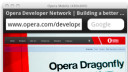 Browser, Emulator, Opera Mobile