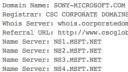 Microsoft, Domain, Sony-Microsoft.com