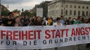 Protest, Demonstration, Freiheit Statt Angst