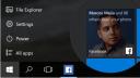 Windows 10, Facebook, Startscreen, Homescreen