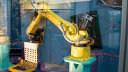Roboter, Robot, Gelb