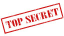 Logo, Geheim, Top Secret