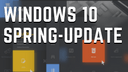 Microsoft, Windows 10, Update, Design, Redstone 4, Windows 10 Redstone 4, Frühling, Spring Update, Spring