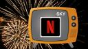 Streaming, Fernsehen, Netflix, Sky