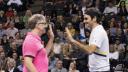 Bill Gates, Spenden, Spendensammlung, Roger Federer