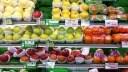 Supermarkt, Lebensmittel, Orange, Apfel, Obst