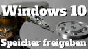Windows 10, Speicher, Festplatte, Speicherplatz, Faq