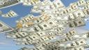 Geld, Dollar, Regen, Geldregen