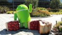Betriebssystem, Google, Android, Android P, Android 9.0, Android Pie, Mountain View, Statue, Figur