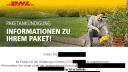 Betrug, Spam, Phishing, email, DHL