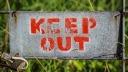 Verbot, Schild, Keep Out, Zutritt verboten