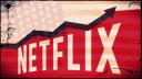 Usa, Netflix, Fahne, flag, Cracks, Netflix USA, Angeschlagen