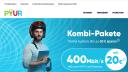 PYUR Kombi-Tarif TV, Telefon und Internet mit bis zu 400 Mbit/s startet
