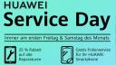 Huawei, Aktion, Rabatt, Service, Folie, Huawei Service Day