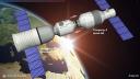 Weltraum, Weltall, All, Tiangong-2