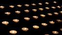 Licht, Feuer, Kerzen, Trauer, Teelichter