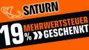 Logo, Schnäppchen, Sonderangebote, sale, Rabattaktion, Deals, Saturn, 19 Prozent Aktion