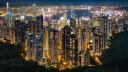 Hong Kong, Hongkong, Nacht, skyline