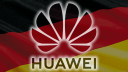 Smartphone, Huawei, Deutschland, Flagge, Fahne