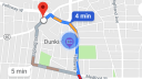 Werbung, Google Maps, Navigation, Karte, Google Maps App
