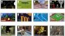 Spiele, Games, Briefmarken, Britische Post, Royal Mail