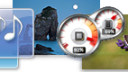Windows 7, Desktop, Gadgets
