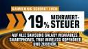 Samsung, Schnäppchen, Sonderangebote, Rabattaktion, sale, Deals, Saturn, Angebote, prospekt, Mehrwertsteuer, 19 Prozent Aktion, MwSt.