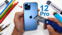Apple, Smartphones, Display, iPhone 12 Pro, JerryRigEverything, Härtetest, Ceramic Shield, Kratztest