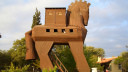 Trojaner, Holz, Trojanisches Pferd