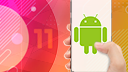 Smartphone, Betriebssystem, Google, Android, DesignPickle, Google Android, Android 11, Android Logo, Bugdroid, Android Figur, Google Android 11, Android Männchen, Android 11 Beta