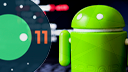 Android, Google Android, Android 11, Android Logo, Bugdroid, Google Android 11, Android Figur, Android Männchen, Android 11 Beta