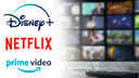 Streaming, Logo, Netflix, Videoplattform, Streamingportal, Disney+, Amazon Prime Video, Videostreaming, Prime Video, Disney Plus, Netflix Logo