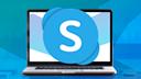 DesignPickle, Laptop, Skype, Skype VoIP, Skype Videotelefonie, Skype Videochat, Skype for Business, Skype Messaging, Microsoft Skype, Skype Logo