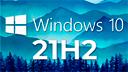 Microsoft, Windows 10, Windows Logo, Windows 10 Logo, 21H2, Windows 10 21H2, Windows 10 21H2 Update