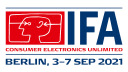Logo, Messe Berlin, IFA 2021, Internationale Funkausstellung