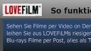 Amazon, PlayStation 3, Videoplattform, Videostreaming, Lovefilm