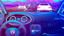 Auto, Fahrzeug, Autos, Rennspiel, Datenübertragung, Selbstfahrendes Auto, Autonomes Auto, Stockfotos, Traffic, Selbstfahrend, Verkehr, Autopilot, Comic, autonomes Fahren, Vernetzung, Autobahn, Autonome Fahrzeuge, Neon, Selbstfahrende Autos, Selbstfahren, Racing, Rennsimulation, Rennfahrer