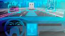 DesignPickle, Auto, Fahrzeug, Autos, Selbstfahrendes Auto, Stockfotos, Autonomes Auto, Selbstfahrend, Verkehr, Autopilot, Comic, autonomes Fahren, Autobahn, Neon, Autonome Fahrzeuge, Selbstfahrende Autos, Selbstfahren, Verfolgung