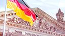 Politik, Berlin, Bundestag, Fahne, Flagge, Staat, Reichstagsgebäude, Reichstag, Dem Deutschen Volk
