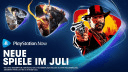 PlayStation Now: Sieben neue Top-Spiele für PS4 und PS5 im Juli