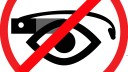 Datenschutz, Google Glass, Banner, stop the cyborgs