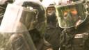 Polizei, Terror, Maske, Aufstand