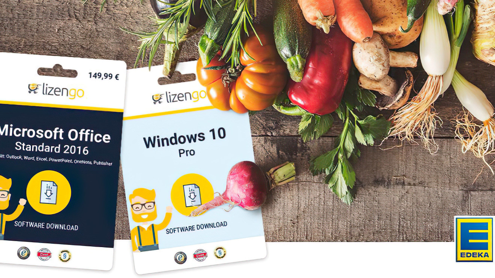 Windows 10, Office, Lizenz, Volumenlizenz, Lizengo, Edeka