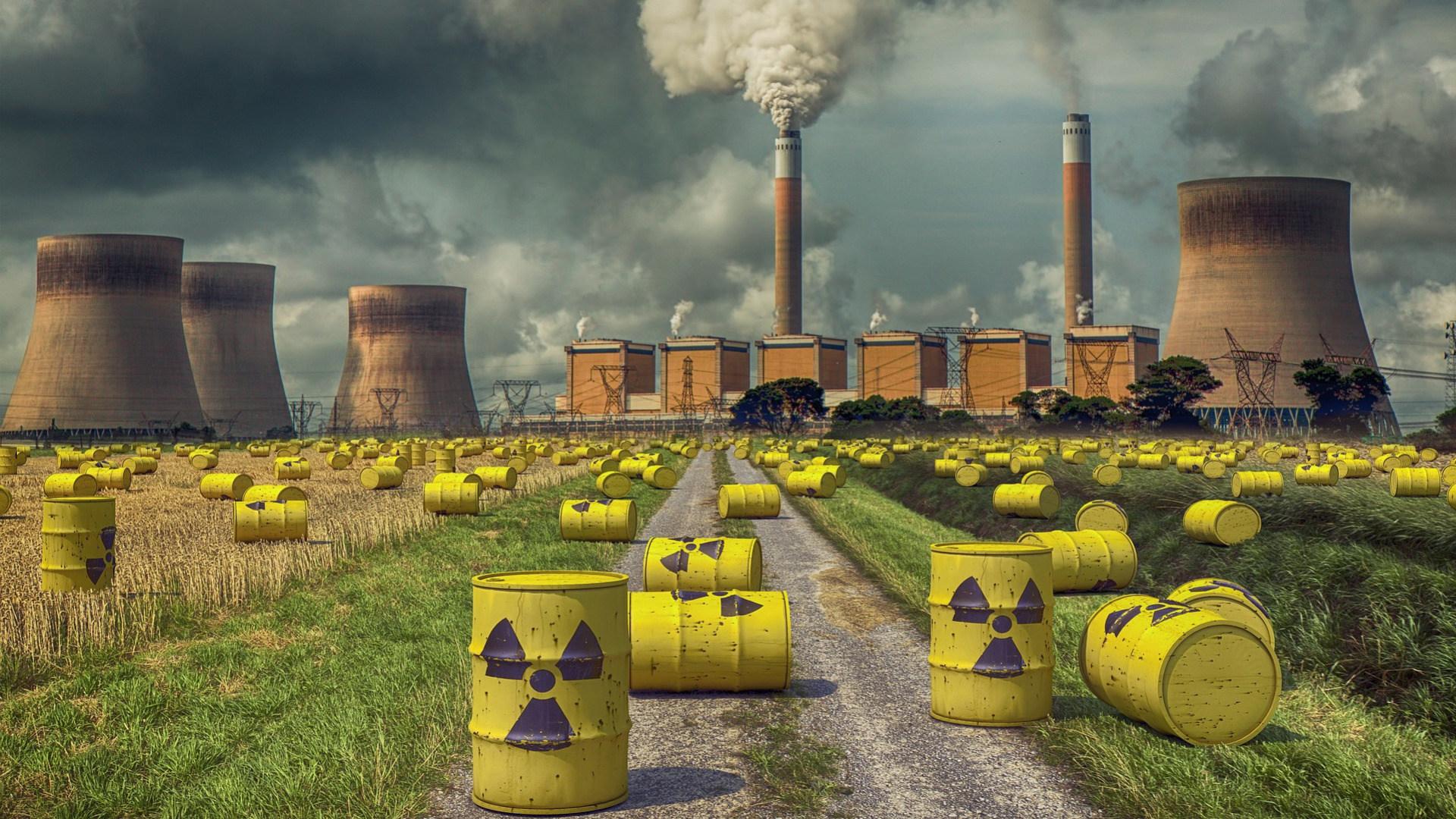 Atomkraftwerk, Atomkraft, Nuklear, Atommüll