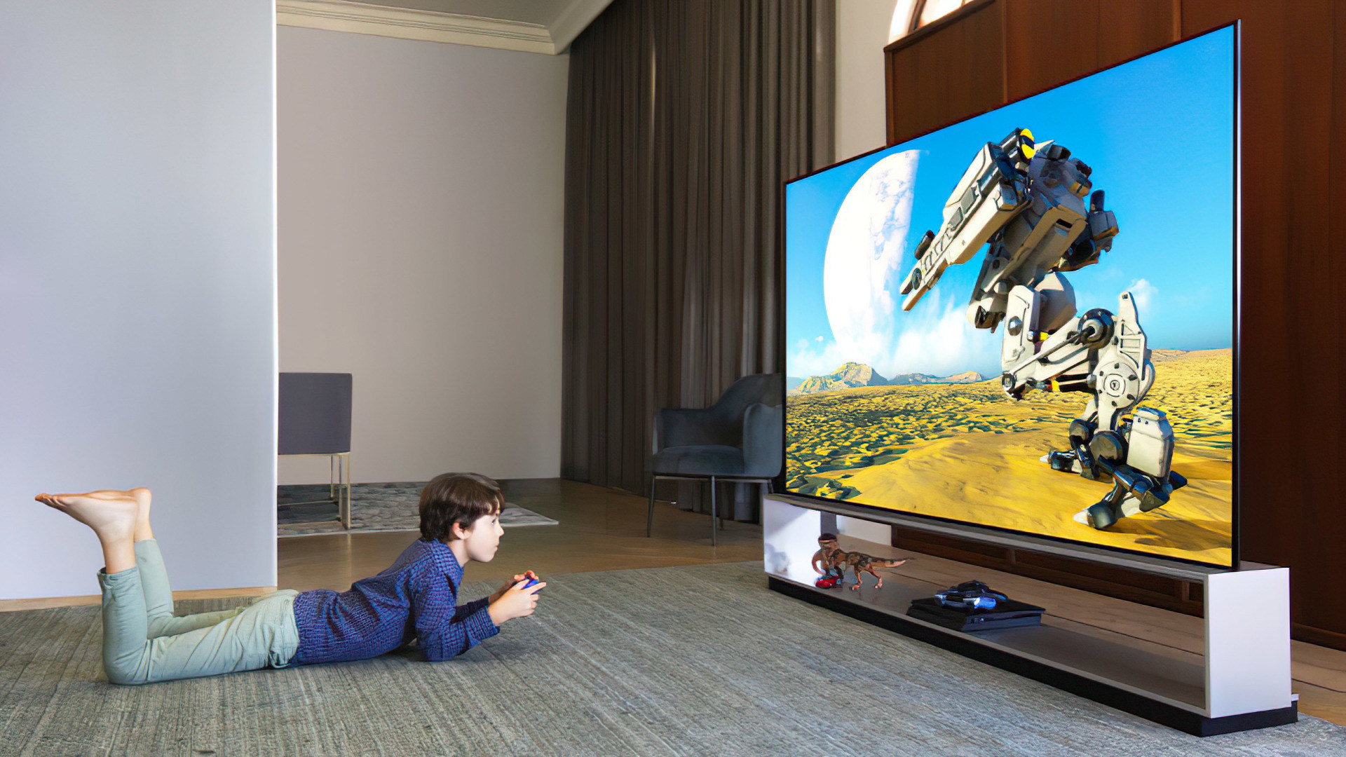 Gaming, Spiele, Konsole, Tv, LG, Fernseher, Spielekonsole, OLED, LG Electronics