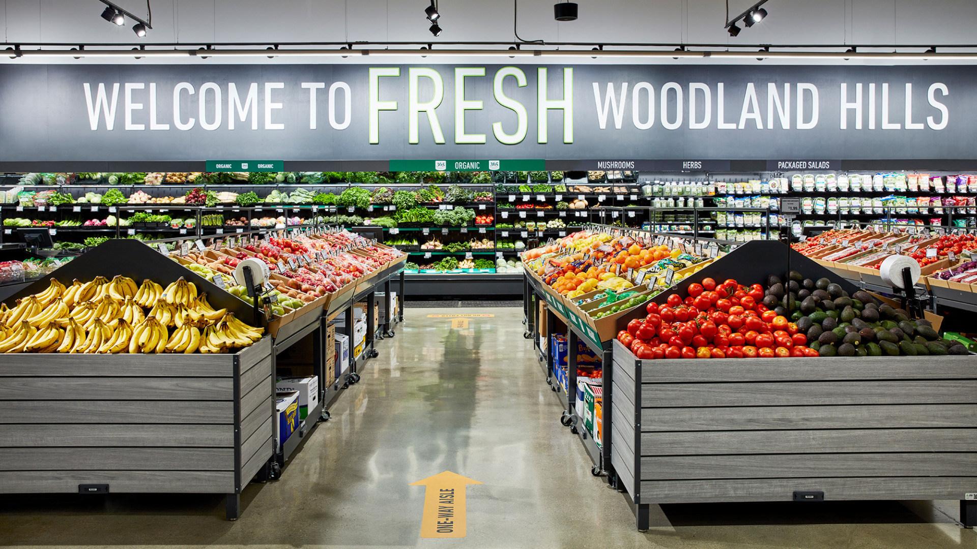 Amazon, Supermarkt, Lebensmittel, Fresh, Amazon Fresh