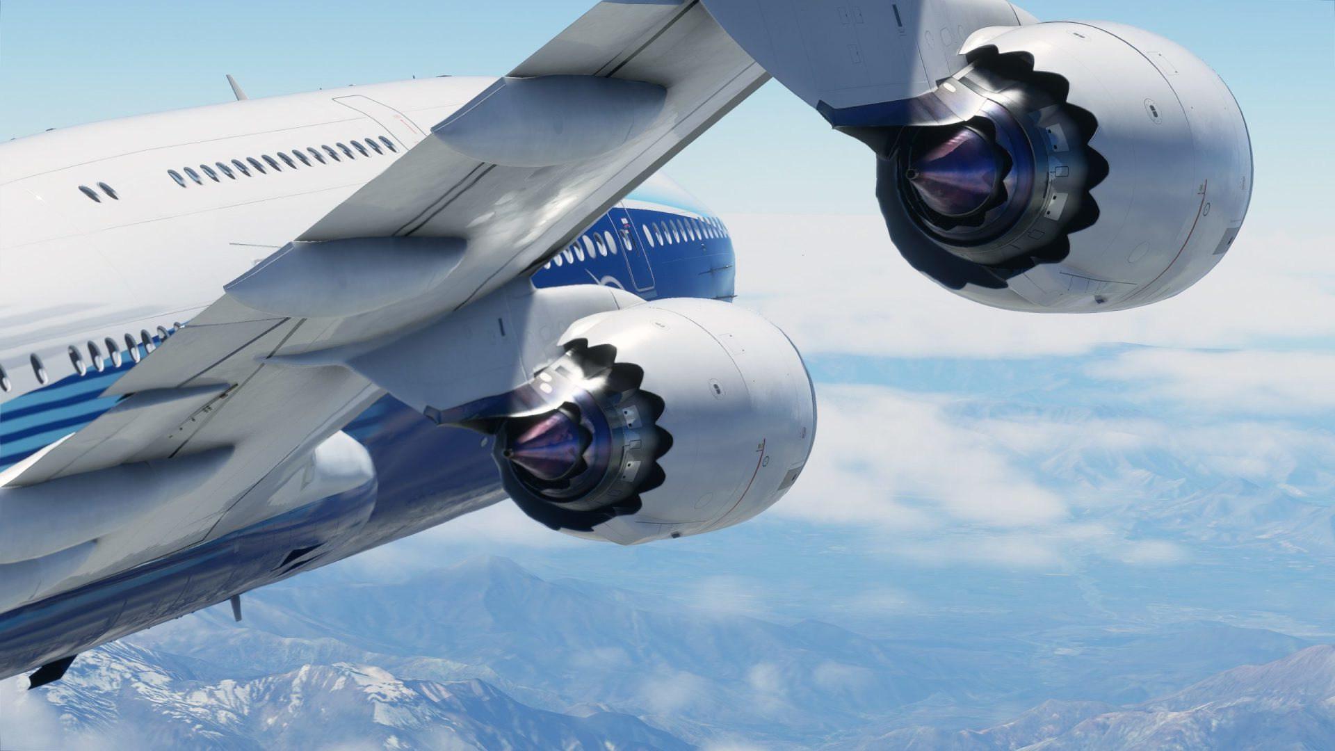 Microsoft, Gaming, Spiele, Games, Flugzeug, flugsimulation, Flight Simulator 2020, Screenshots, Turbine, Boeing 747-8i