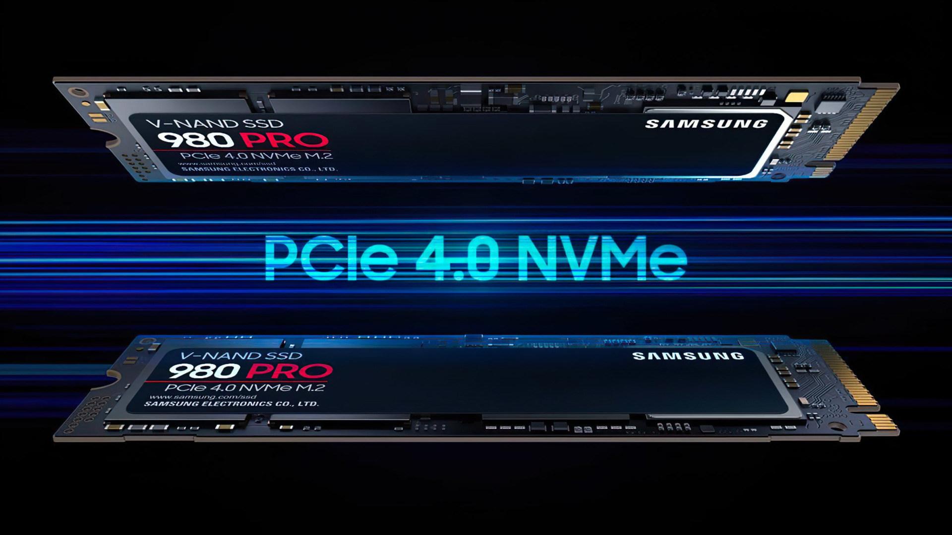 Samsung, Speicher, Ssd, Flash, Solid State Drive, NVMe, M.2, PCIe 4.0, V-Nand, Samsung 980 Pro