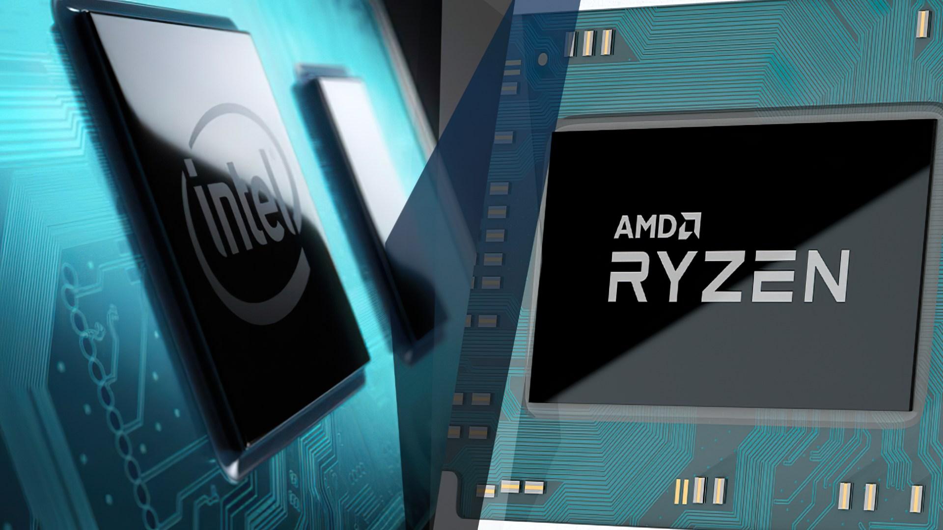 Intel, Prozessor, Logo, Cpu, Chip, Amd, Prozessoren, Ryzen, Intel Core i7, Intel Core, AMD Ryzen, Core i7, Intel Vs. AMD, Intel versus AMD, AMD vs. Intel