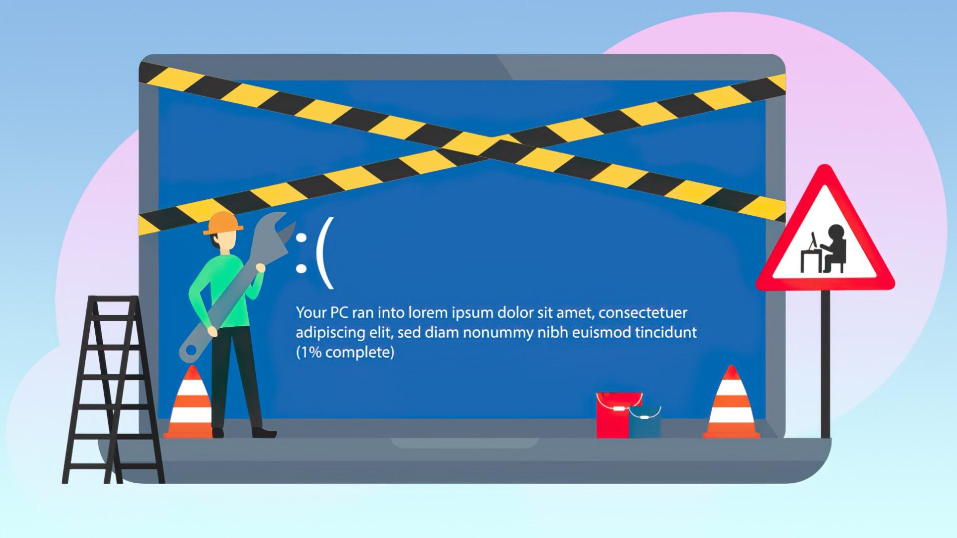 Windows 10, Update, Beta, Fehler, Bug, Entwicklung, Schadsoftware, Bugs, Fehlerbehebung, Absturz, Crash, Error, Bluescreen, Windows 10 bugs, Windows 10 Bug, Windows 10 Fehler, Fehlercode, Update Fehler, Windows 10 Bluescreen, Vorab, Reperatur, Baustelle, Bauarbeiter